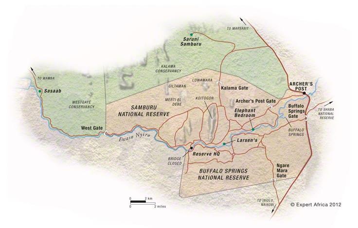 Samburu Reserve and Village